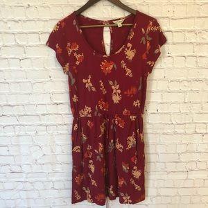 Lucky Brand Drawstring Dress